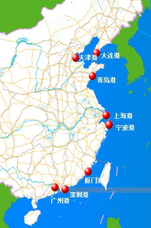 中国海洋港口