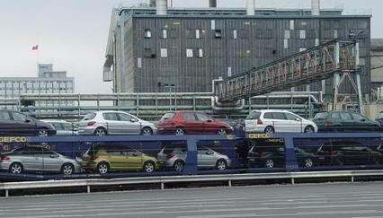汽车物流高清图片