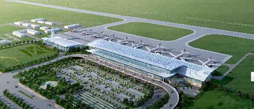 青岛新机场平面图