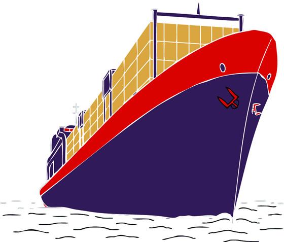 船 帆船 设计 矢量 矢量图 素材 560_477